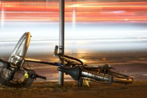 bike accident - fell of the bike